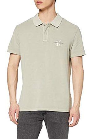 Calvin Klein Jeans Men's Archive Monogram Embro Polo Shirt