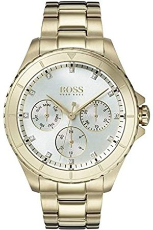 Hugo Boss Womens Multi dial Quartz Watch with Plated Strap 1502445