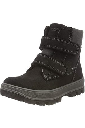 Superfit Boys' TEDD Snow Boots, (Schwarz 00 00)