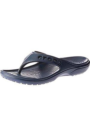 Crocs Unisex's Baya Flip Flops, (Navy)
