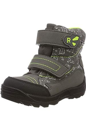 Richter Kinderschuhe Richter Kids Shoes Boys Freestyle Snow Boots, Grau (Ash/Neon 6302)