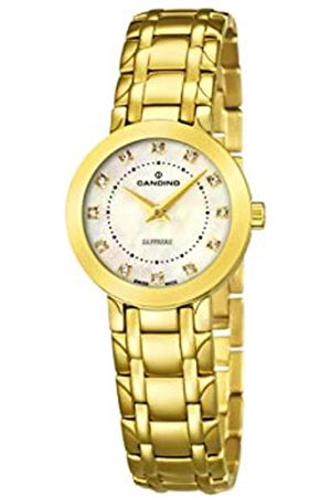 Candino Womens Analogue Classic Quartz Watch with Stainless Steel Strap C4501/3