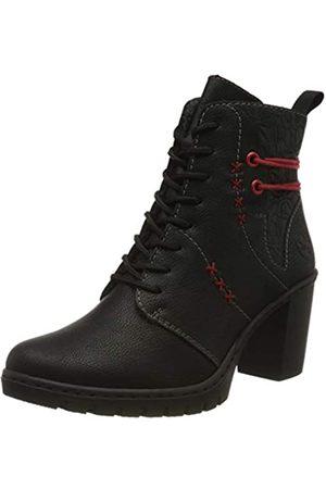 Rieker Women's Herbst/Winter Ankle Boots, (Schwarz/Schwarz / 01 01)
