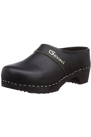 Gevavi Denver Schoenklomp Zwart 49, Unisex Adults' Clogs, (schwarz(zwart) 00)