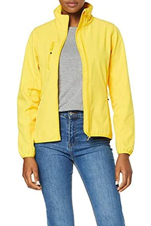 CLIQUE Women's Ladies Basic Softshell Jacket, (Lemon)