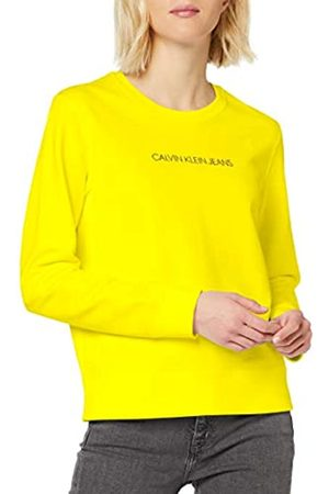 Calvin Klein Women's INSTITUTIONAL Regular Crew Neck Sweatshirt