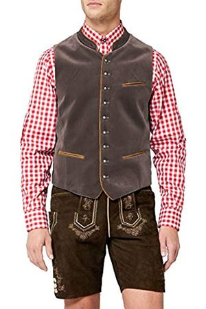Stockerpoint Men's Weste Ricardo Traditional Dress Waistcoat, -Grau (Stein)