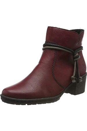 Rieker Women's Herbst/Winter Ankle Boots, (Wine / 35 35)