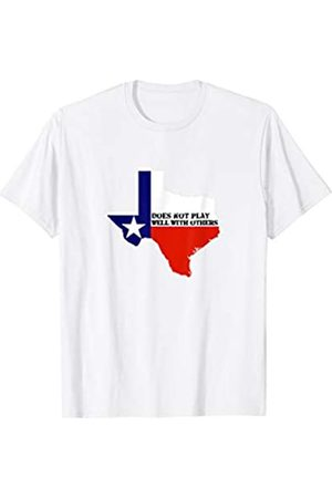Ann Arbor T-shirt Co. Texas Does Not Play Well With Others | Texan Pride T-shirt