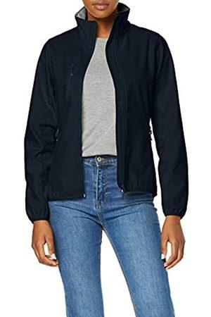 CliQue Women's Ladies Basic Softshell Jacket, (Dark Navy)