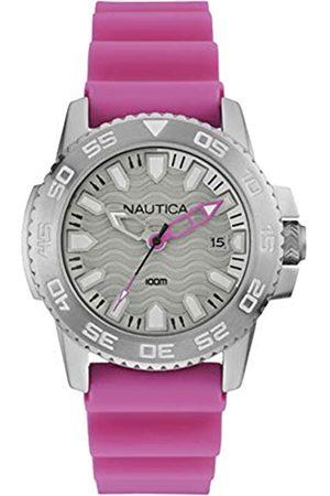 Nautica Mens Analogue Quartz Watch with Rubber Strap NAI12533G