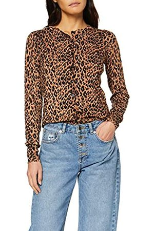 warehouse Women's Animal Print Cardigan