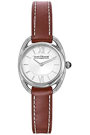 Saint Honore Women's Analogue Quartz Watch with Leather Strap 7210261AIN-BR