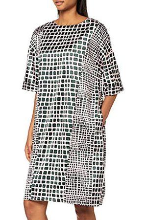 Apart Women's Printed Satin Dress
