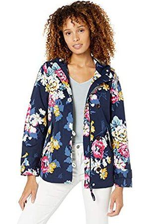 Joules Women's Coast Print Rain Jacket, (Anniversary Floral))