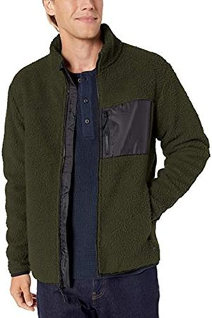 Goodthreads Sherpa Fleece Fullzip Jacket Olive