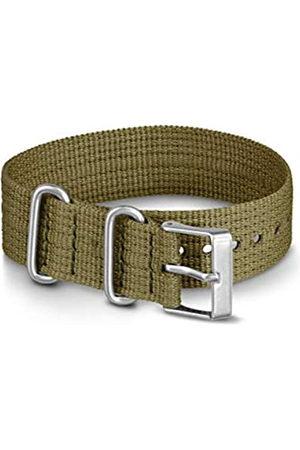 Timex Men's 20 mm Fabric Slip-Thru Single Layer Strap TW7C05700