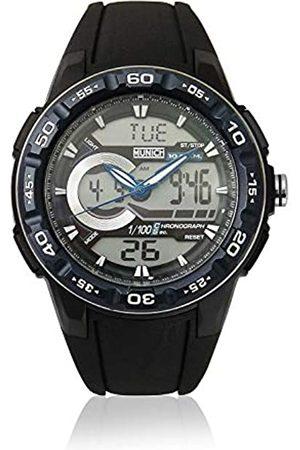 Munich Unisex Adult Digital Quartz Watch with Rubber Strap MU+130.1C