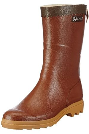 Aigle BISON, Unisex Adult's Work Wellingtons, (Ambre)
