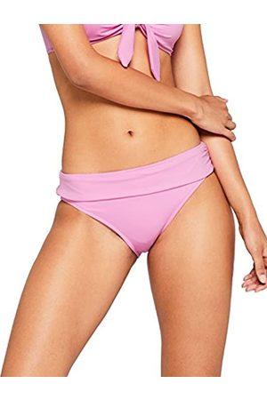IRIS & LILLY Women's High Gathered Waist Bikini Bottoms