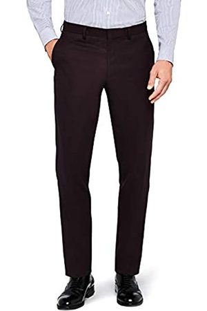 FIND Men's Slim Fit Textured Formal Trousers