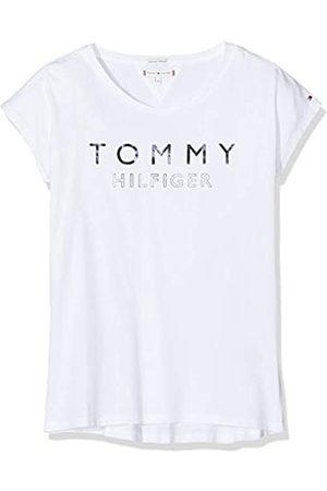 Tommy Hilfiger Girl's Foil Print Tee S/s T-Shirt