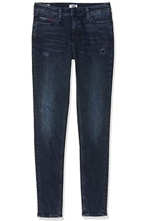 Tommy Hilfiger Women's Mid Rise Skinny Nora Hkdk Straight Jeans