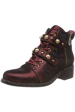 LAURA VITA Women's Emma 02 Ankle Boots, (Rouge Rouge)