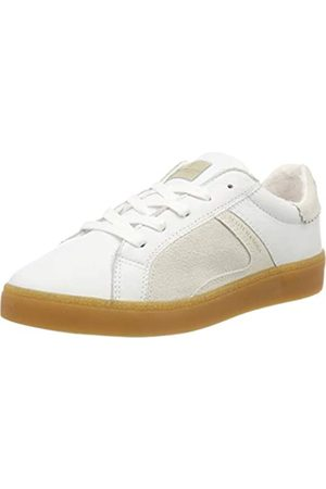 SCOTCH & SODA FOOTWEAR Laurite, Women's Low-Top Trainers, Multicoloured (Bright Wht-cream S291)