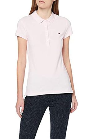 Tommy Hilfiger Women's Heritage Short Sleeve Slim Polo Shirt