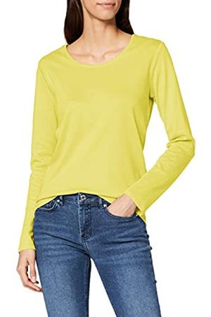 CECIL Women's 314022 Pia Long Sleeve Top, (Gelb)