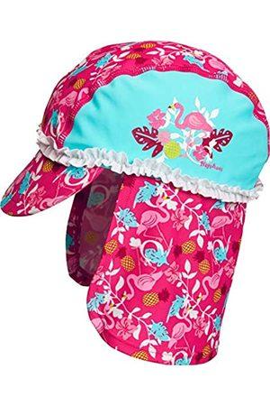 Playshoes Girl's UV Protection Bathing Cap, Swimming Cap Flamingo Cap