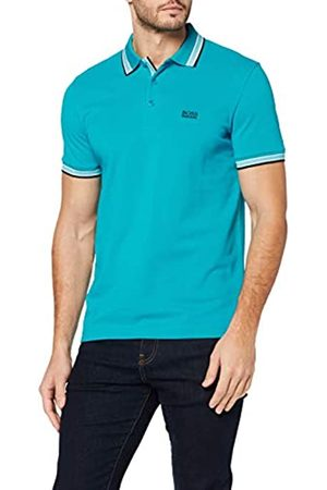 BOSS Men's Paddy Polo Shirt Plain Regular Fit Polo Shirt