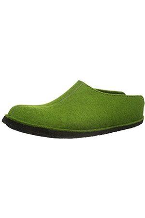 Haflinger Smily, Unisex - adults slippers, (Grasgrün 36)
