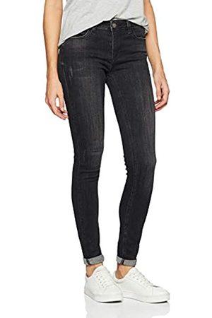 Mexx Women's Slim Jeans, Schwarz (Jet 190303)