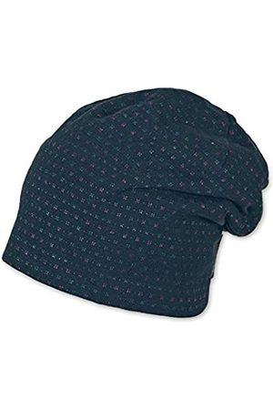 Sterntaler Baby Girls' Slouch-Beanie, Cappellopello Flat Cap