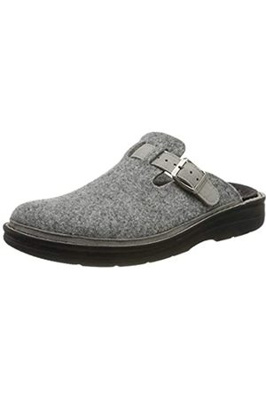 Berkemann Men's Mirko Open Back Slippers, Grau (Hellgrau 652)