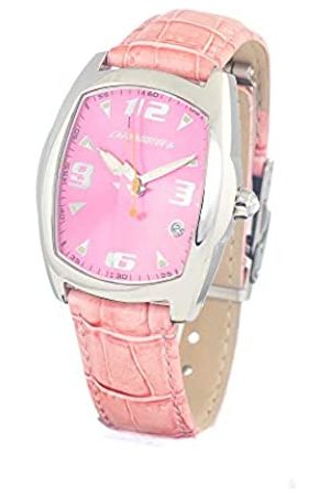 Chronotech Womens Analogue Quartz Watch with Leather Strap CT7504L-07