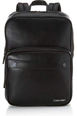 Calvin Klein United Pu 3g Square Backpack, Men's (Blackwhite )