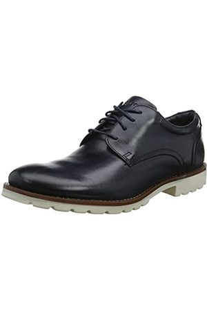 Rockport Men's Sharp & Ready Colben Plain Toe Oxfords, (Navy 002)