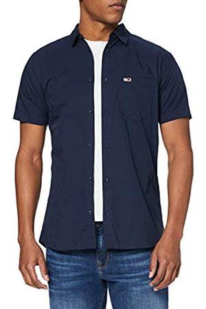 Tommy Hilfiger Men's TJM Shortsleeve POPLIN Shirt Casual