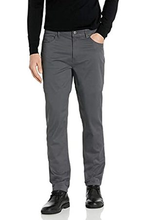 Buttoned Down Straight-fit 5-Pocket Easy Care Stretch Twill Chino Pant