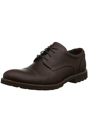 Rockport Men's Sharp & Ready Channer Cap Toe Oxfords, (Saddle 001)