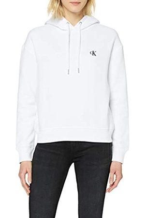 Calvin Klein Women's CK Embroidery Hoodie Hooded Sweatshirt
