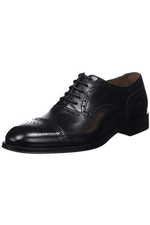 Lottusse Men's L6966 Oxfords, (Ebony Negro)