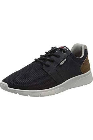 s.Oliver Men's 5-5-13618-34 Low-Top Sneakers, (Navy 805)
