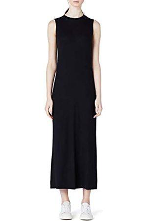 MERAKI Women's Slim Fit Rib Summer Maxi Dress