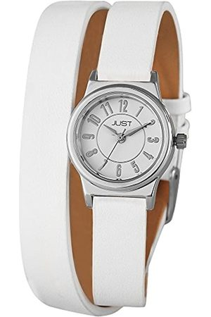 Just Watches Ladies Watch XS Analogue Quartz 48–Leather S4062–WH