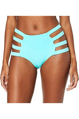 Mapale Women's Strappy High Waist Bikini Bottoms