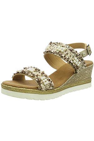 Mustang Women's 1317-801-397 Sling Back Sandals, ( /ivory 397), 38 EU